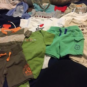 Lot of 3-6 month baby boy clothes